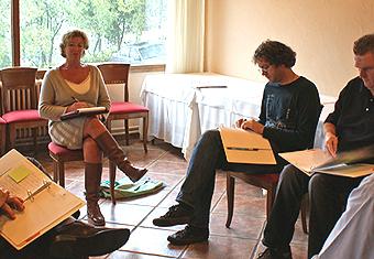 Bureau Kruiswijk verzorgde in april een training in Barcelona met onder andere focussed enquiry.