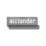 Alliander logo | Opdrachtgever van Bureau Kruiswijk